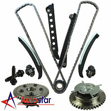 New Timing Chain Kit Cam Phaser Set For 04-08 Ford Lincoln 5.4L Triton 3-Valve