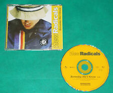 New Radicals - Someday we´ll know BRAZIL RARE PROMO CD 1999