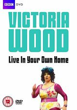 VICTORIA WOOD - Live in Your Own Home - DVD- New But NOT Sealed (Thin Case)