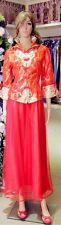 Chinese Wedding Dress Kua Kwa Qipao Cheongsam 8c Custom Make Avail Traditional