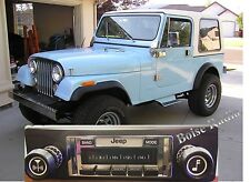 '78-86 Jeep CJ NEW High Power 300 watt Stereo Radio iPod Control USB, CJ-5, 7, 8