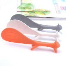 Plastic squirrel Shape Creative Rice Scoop Vertical  Meal Spoon Kitchen Tools