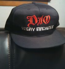 DIO ANGRY MACHINES RARE BASEBALL HAT! TOUR '96 MINT!