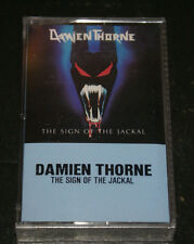 Damien Thorne Sign Of The Jackal RARE Canada Cassette Tape 1986 Factory Sealed