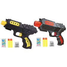Water Crystal Gun 2-in-1 Air Soft Bullet Gun Pistol Toy CS Game Shooting Gun Toy