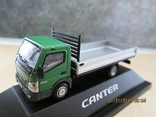 Herpa/Canter (1:87/HO) Mitsubishi Flatbed Vehicle Carrier (Green) #6420