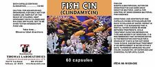 Fish Cin 150mg Capsules of Clindamycin - 60 Count - Pharmacy Grade Antibiotics
