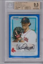 ANTHONY RANAUDO 2011 Bowman Chrome Rookie Blue Refractor #034/150 BGS 9.5 Pop 3