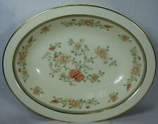 MINTON England china JASMINE pattern S771 Oval Vegetable Serving Bowl @ 10-3/4""