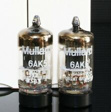 Mach 1 pair NIB Mullard mark 6AK5 M8100 5654 EF95 TUBEs  CYRO for amplifiers