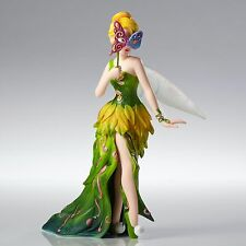 New DISNEY SHOWCASE Figurine TINKERBELL MASQUERADE Sculpture BUTTERFLY MASK