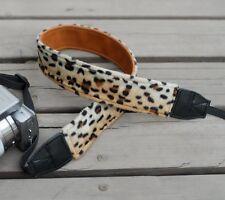Sexy Leopard Plush Neck Strap For Nikon/Canon #91