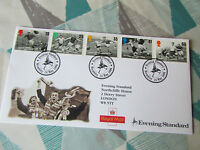 British FOOTBALL Legends Evening Standard  1996 First Day Cover / FDC