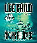 Jack Reacher: Never Go Back by Lee Child (2013, CD, Unabridged) 13 1/2 hours f/s
