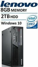 Lenovo ThinkCentre M58 Desktop with Intel Core2 Duo 3.0 GHz Processor, 8GB RAM,