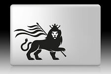 "Rasta Lion calcomanía Adhesivo Para Macbook Air Pro Retina 11 ""de 13"" 15 ""de 17"""