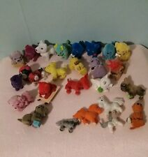 Lot of various Puppy In My Pocket figures rainbow colours  Pony Puppies