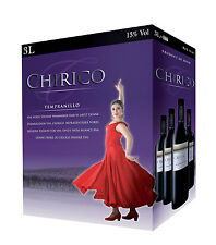 Chirico Tempranillo Spanischer Rotwein 3L Bag in Box BiB 13% vol