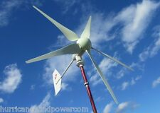 Hurricane XP Wind Turbine Generator Kit 750 Watt 12 Volt Max 1000 Watts