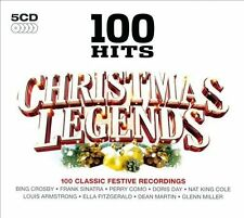 CHRISTMAS LEGENDS: 100 HITS -VAR (5CD) KITT SCOTT RAMBLERS ROSSI ROZA HUTTON LEE