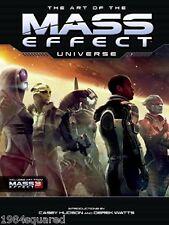 Art of the Mass Effect Universe Hardcover Art Book BioWare Trilogy New HC Mint