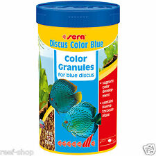 Sera Discus Color Blue 3.9 oz / 250 ml Blue Discus Fish Food FREE USA SHIPPING!