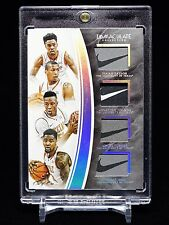 Myles Turner 16-17 Immaculate Collegiate Quad Nike Tag Patch 1/1 Texas Longhorns