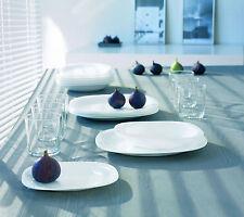 Luminarc servizio piatti per 6 persone 18 pezzi  modello Carine bianco