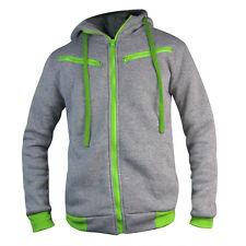 Mens Winter Slim Hoodie Warm Hooded Sweatshirt Coat Jacket Outwear Tops Sweater