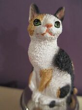 Cat Japanese Bobtail Tortise /White Wine Stopper