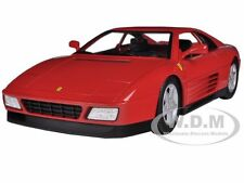 FERRARI 348 TB RED 1/18 DIECAST MODEL CAR BY HOTWHEELS X5532