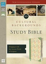 NIV, Cultural Backgrounds Study Bible, Imitation Leather, Indexed : Bringing...