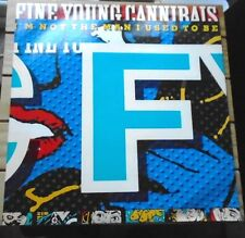"Fine Young Cannibals Vinyl 12"" Single I'm not the Man I used to be"