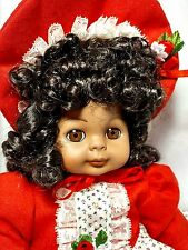 "Carol Anne Goebel Bette Ball Vintage LE AA Cherise 16"" Musical Porcelain Doll"