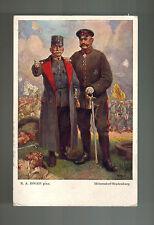 1916 Vienna Austria Picture Postcard Cover General Paul Von Hindenburg