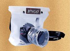 DSLR SLR camera waterproof underwater case pouch housing bag Nikon Canon Sony