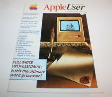 Apple User Magazine Vol. 8 No 3 March 1988 Magazine