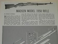 MADSEN MODEL 1958 RIFLE EXPLODED VIEW