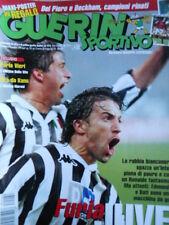 Guerin Sportivo n°44 1998 con Poster ALEX DEL PIERO & David Beckam  [GS42]