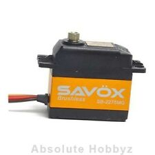 Savox MG High Voltage Lightning Speed Brushless Metal Gear Digital Servo - SAV-S