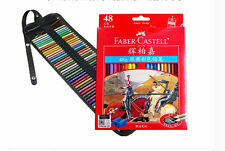 Faber Castell Oil based Colore Pencils 48 Colors Drawing Set With Canvas Bag