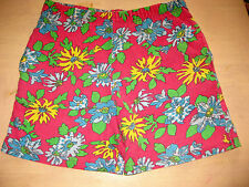 Vintage - Girls floral pretty pink   cycle Shorts age 5 - 6