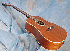 Seagull S6 Mahogany Deluxe Acoustic electric Grand Sound of Al lSolid Mahogany