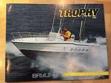 Bayliner 1992 Trophy Offshore Fishing Boat Brochure