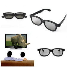 5 Pairs Passive 3D Glasses For Panasonic Sony Samsung Vizio LG Cinema 3D TVs