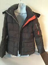 MARC NEW YORK MENS BROWN DOWN FILLED SKI PUFFER JACKET SIZE SMALL CLEARANCE!