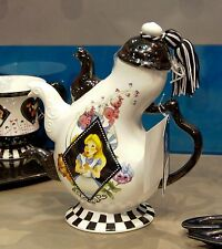 Disney Parks Alice in Wonderland Teapot - Three Spout Teapot Wonderland Graphics