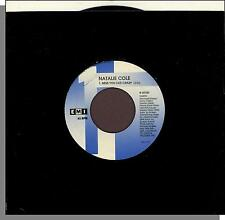 "Natalie Cole - Miss You Like Crazy + Good To Be Back - 1989 7"" 45 RPM Single!"