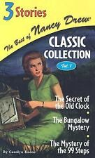 The Best of Nancy Drew Classic Collection Volume 1 (3 Stories)