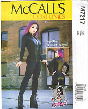 Misses YaYa Hans Ultimate Bodysuit Cosplay McCalls Sewing Pattern 6 8 10 12 14